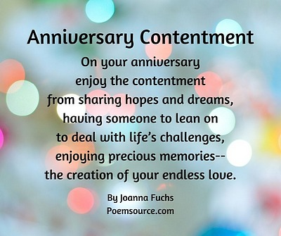 For poems wife anniversary marriage Anniversary Wishes