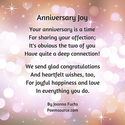 Anniversary Poems: Show You Remember and Care
