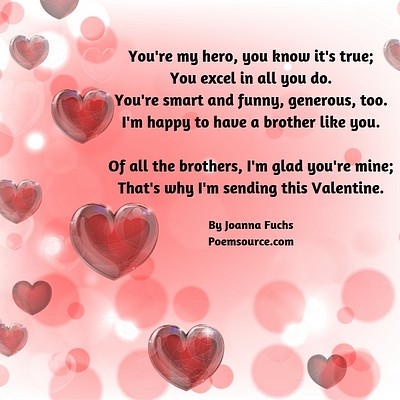Family Valentine Poems For All Your Relatives