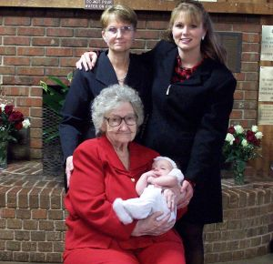 4 generations great grandma, grandma, mother, baby for mothers poems