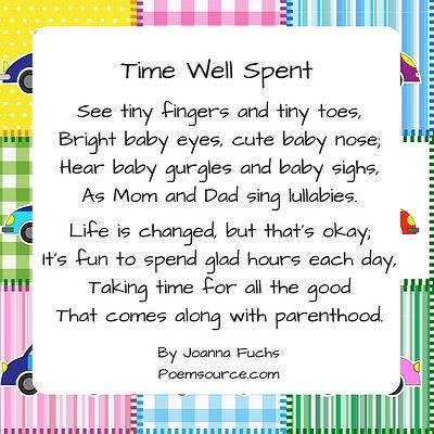 Baby Poems To Celebrate The New Arrival!